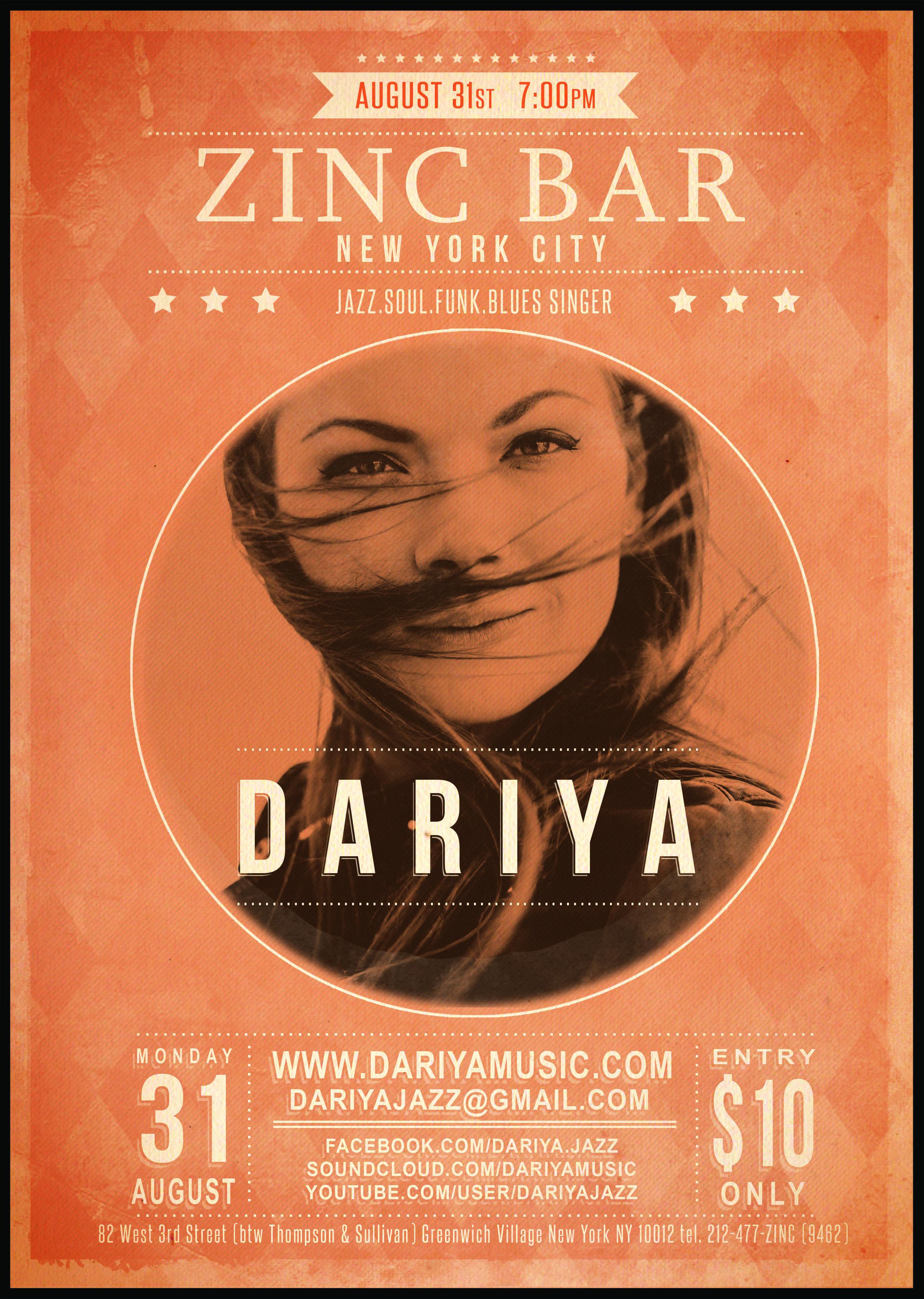 DARIYA_Zinc_Bar_affiche_111x156
